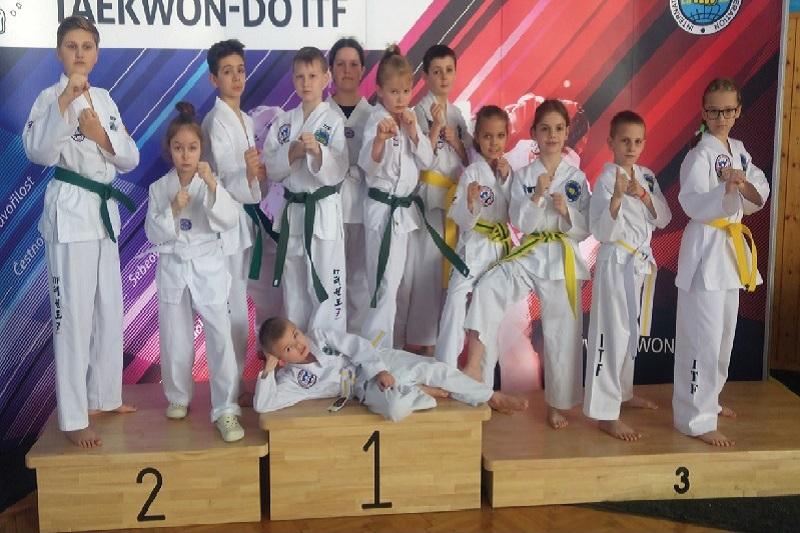 Niezawodni taekwondocy