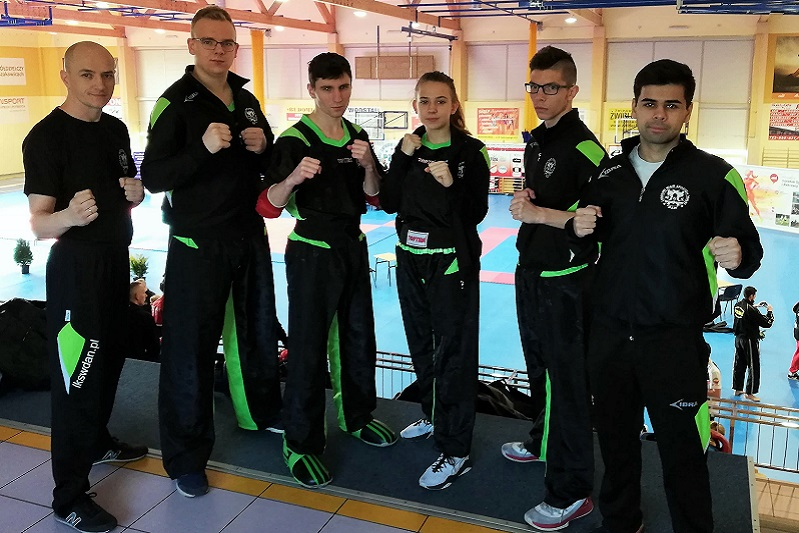 Mistrzowie Polski w kickboxingu