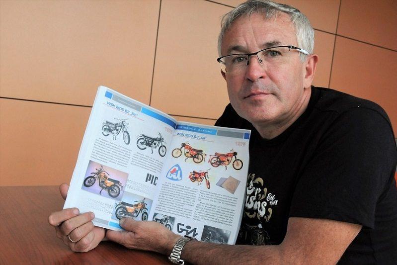 Grzegorz Doroba o motocyklach